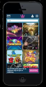 casinoheroes i mobilen