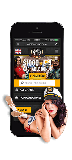 CasinoCruise i mobilen