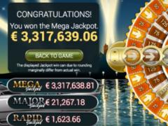 jackpott vinst mega fortune