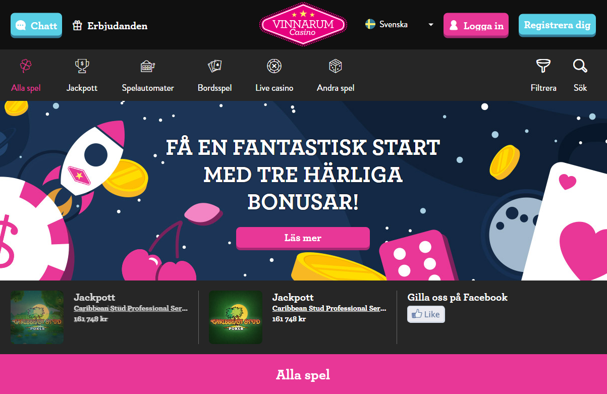 nya vinnarum casino