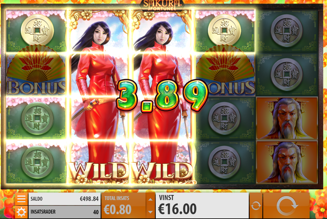 re-spin sakura fortune