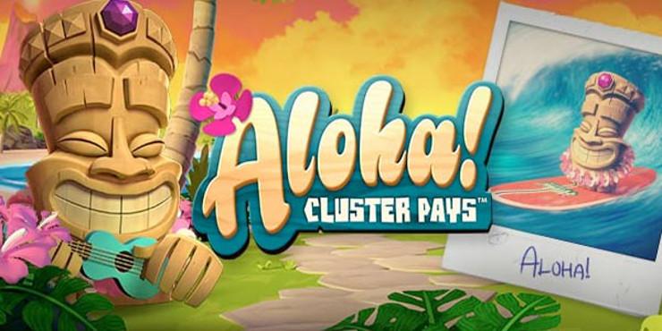 100 free spins utan omsättning i Aloha Cluster Pays