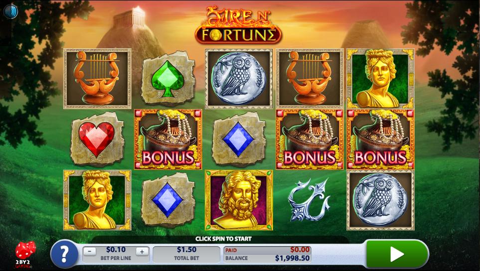 Prova Fire N Fortune från nya spelutvecklaren 2By2 Gaming